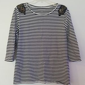 Women's military style top